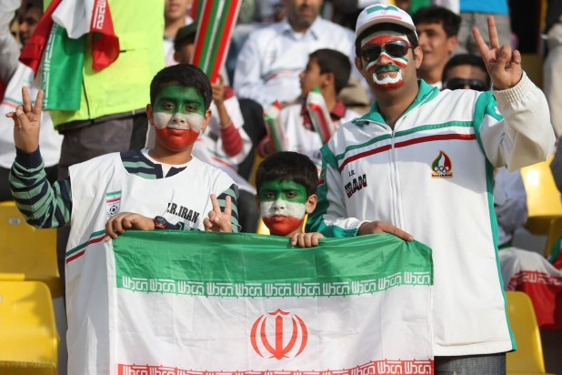 Iran Fans in Doha
