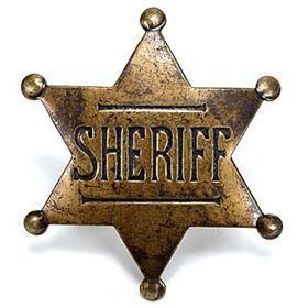 SheriffBadge.Summer county. Kansas