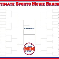 Ultimate Sports Movie Bracket