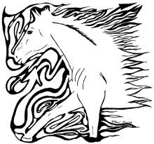 horse running- Running Horse Maze