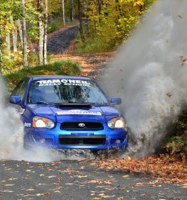 Subaru turbo rally car racing drifting rallycross