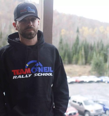 Hooded Sweatshirt Team O'Neil Rally School