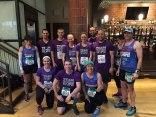 Team PHenomenal Hope's Pittsburgh Marathon racers 2015