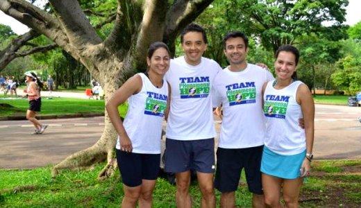 Team PHenomenal Hope BRasil's first race!