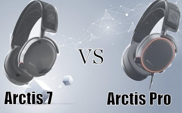 Arctis 7 Vs Arctis Pro