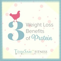 Burn fat with more protein by TeamSam Fitness