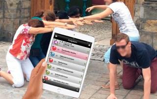 Tab Team Challenge - iPad Rallye Teamevent