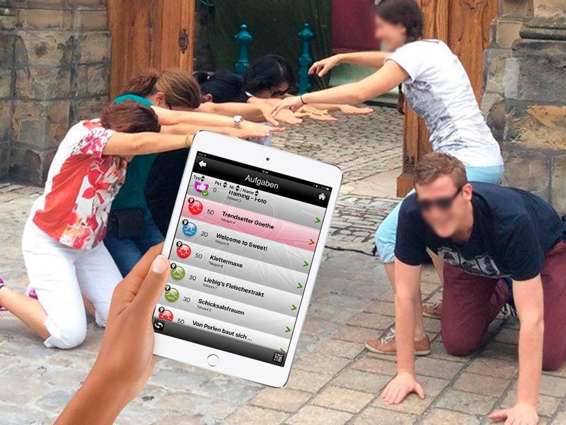 Betriebsausflug: Tab Team Challenge