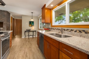 Kitchen at 22920 18th Ave S, Des Moines