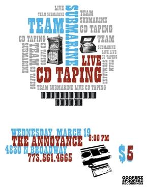 CD Taping