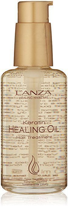 Bottle Of Lanza Keratin Healing Oil