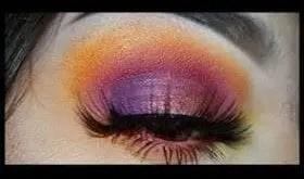 colorful eye looks