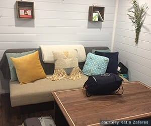 How Olympic Triathlete Katie Zaferes Tiny House Just