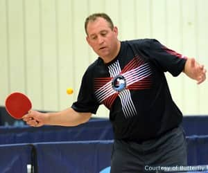 Gordon Kaye New USATT CEO Competes And Talks Table Tennis At 2014 Butterfly Badger Open