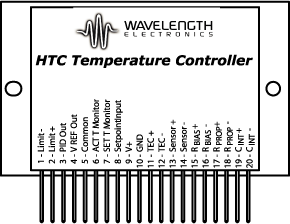 HTC1500 1.5 A Low Profile OEM Temperature Controller