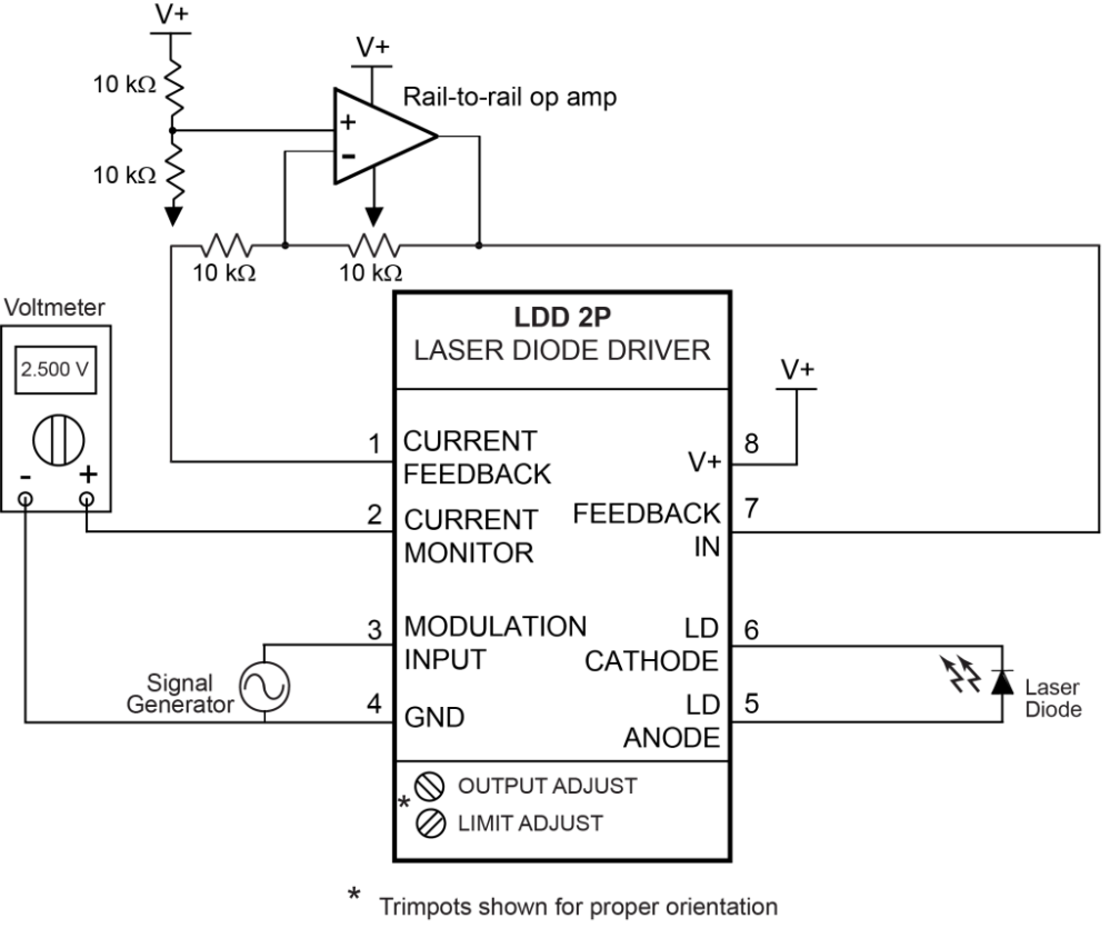 medium resolution of  laser diode driver ldd 2p quick connect diagram