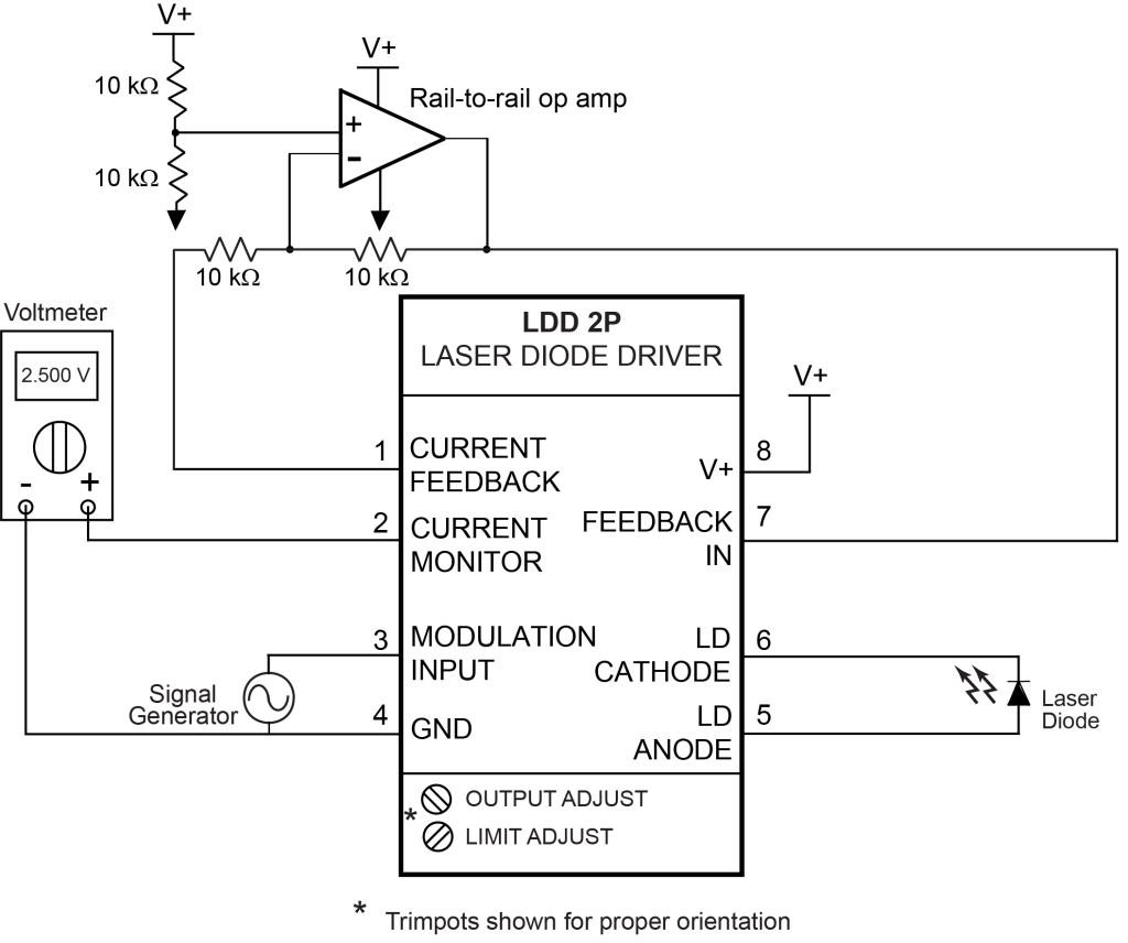 hight resolution of  laser diode driver ldd 2p quick connect diagram