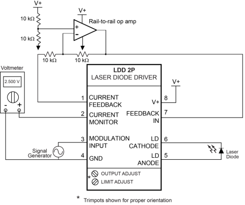 small resolution of  laser diode driver ldd 2p quick connect diagram