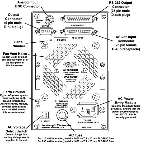 LFI3751 5 A Analog Temperature Control Instrument