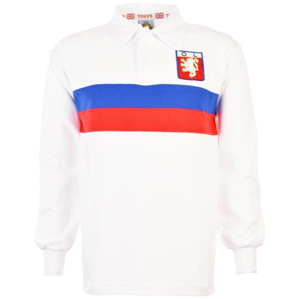 Olympique Lyon 1964 Retro Football Shirt TOFFS4612 52
