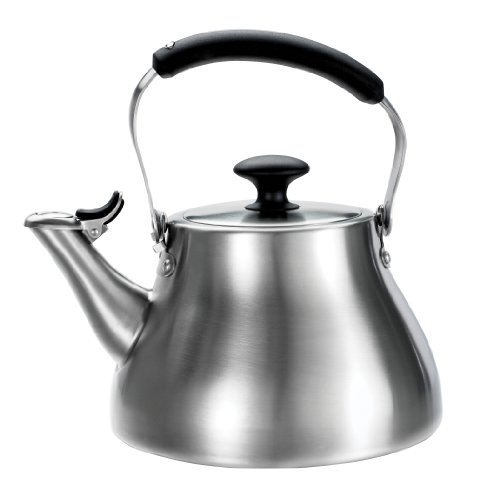 OXO GOOD GRIPS BRUSHED STAINLESS CLASSIC TEA KETTLE