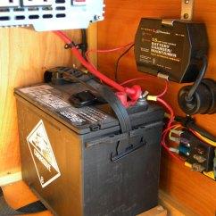 Teardrop Camper Wiring Diagram 2005 Nissan Altima Fix-it-shop   Trailer Power Configuration