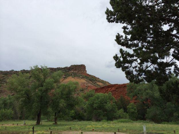 Palo Duro Canyon Walls