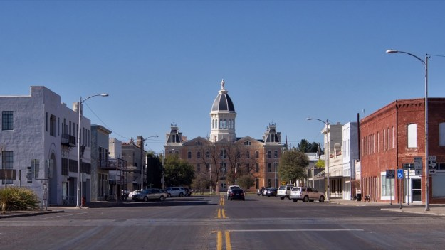 Photo of Highland Street view of the Courthouse