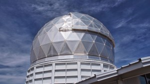 Photo of the Hobby-Eberly Telescope