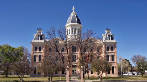 photo of Presidio County Courthouse, Marfa, Texas
