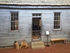 photo of Mark Twain's birthplace in Florida Missouri