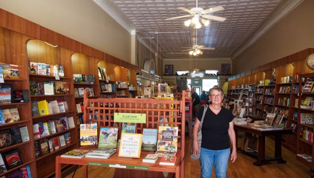 photo of interior of River Reader Books