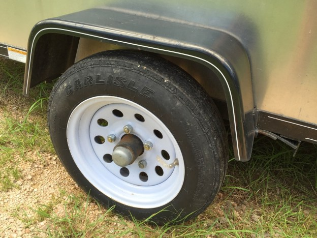 photo of Trailer wheel