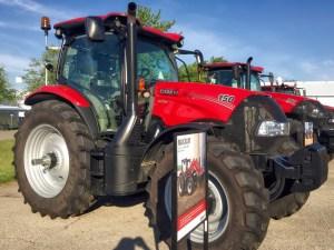 photo of the 150 Maxxam tractor