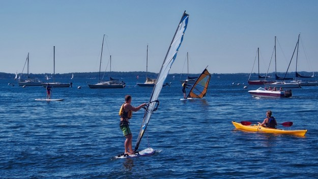 photo of Windsurfing on Lake Mendota