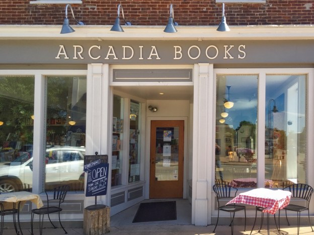 photo of Arcadia Book Storefront