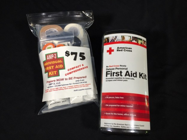 photo of First Aid preparedness kit