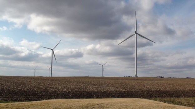 photo of Wind Power in Rural Iowa