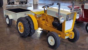 photo of a modified Cub Cadet