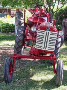 Photo of tractor front