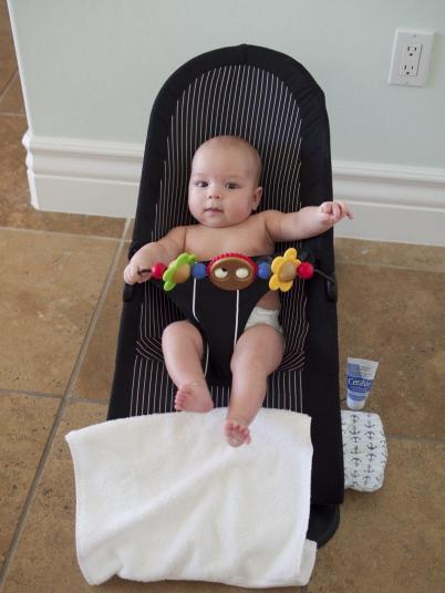 Top baby travel gear: baby bjorn bouncer