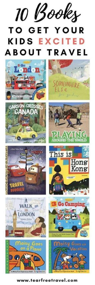 Looking for some children's books to get your kids excited about travel? Look no further, here is my top 10 list of picture books we've loved to get excited about family trips and family vacations. From taking a plane for the first time ​to going camping, we have all the travel experiences covered! #kidsbooks #childrensbooks #travewithkids #travelinspiration #kidstravelbooks #childrenstravelbooks