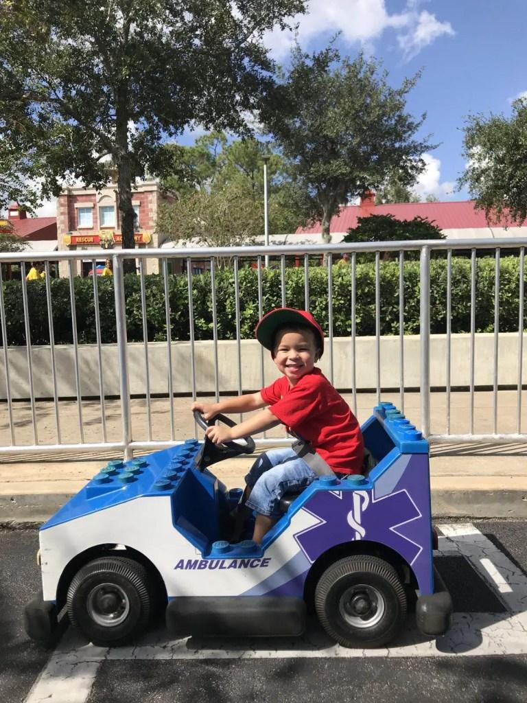LEGOLAND Ford Jr Driving School