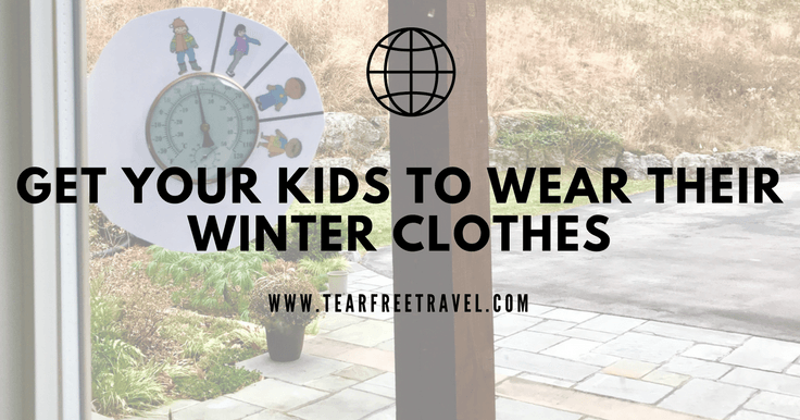 How to get your kids to wear winter clothes