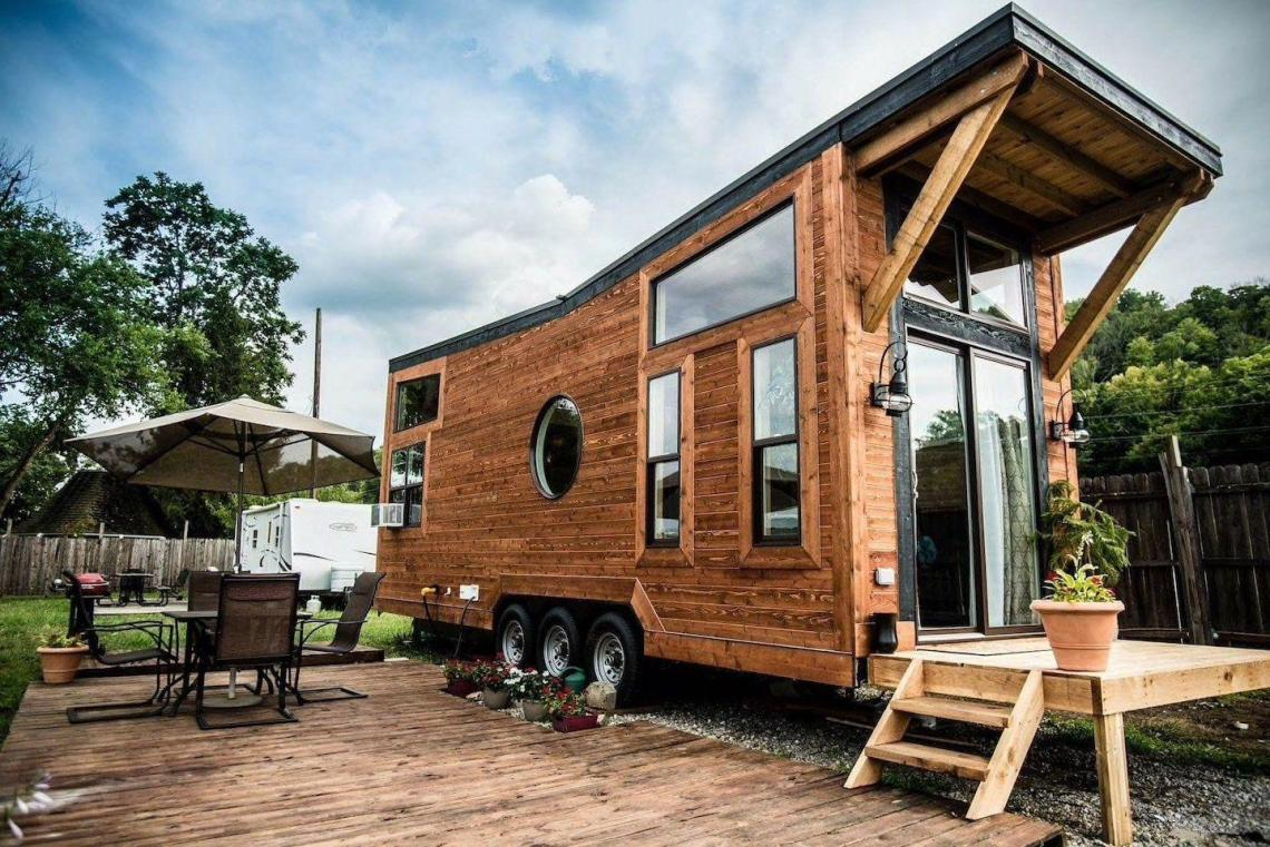 Tiny House Rental Ohio River