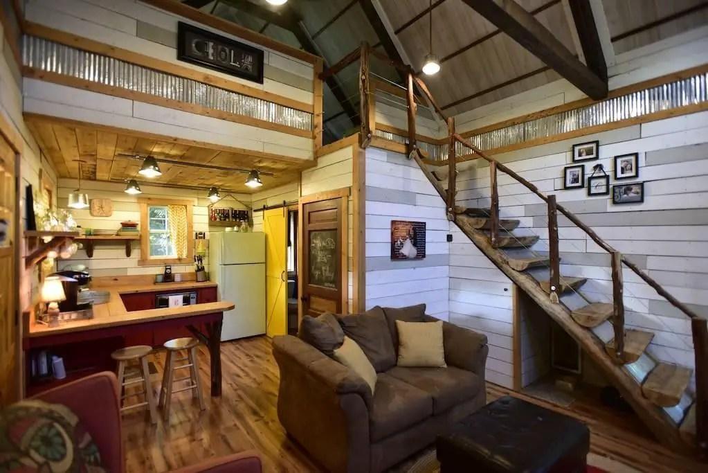 Tiny House Rental Family Friendly