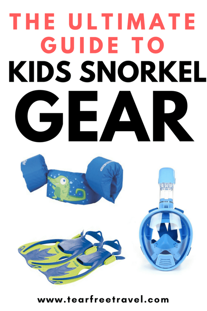 Are you looking for the best kids snorkel gear? In this post I will review the best snorkel gear for kids including the SUPER EASY full face snorkel mask. Even little kids will be snorkeling in no time! Click through to find out all my best kids snorkel tips, and tricks for making snorkeling with kids successful. #kidssnorkel #snorkel #snorkelgear #gearreviews