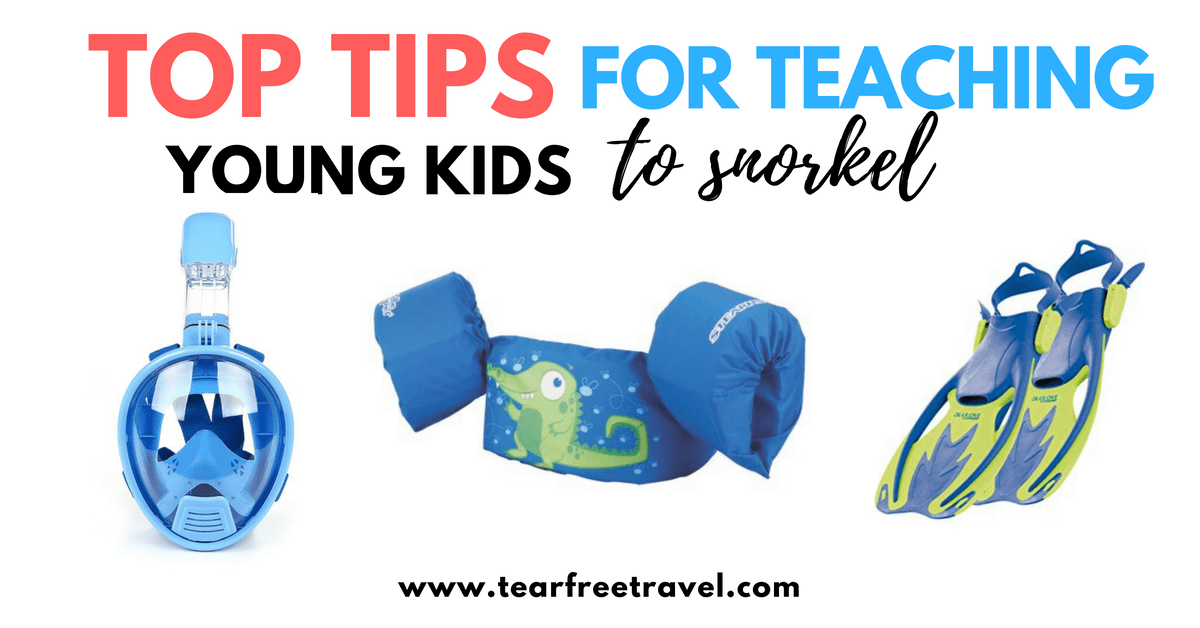 Top Tips for Teaching Kids to Snorkel (Even at a Young Age!)