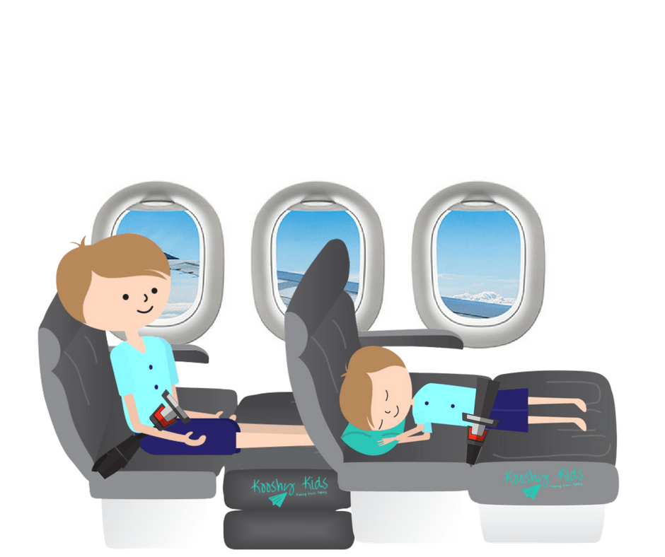 kooshy kids airplane bed
