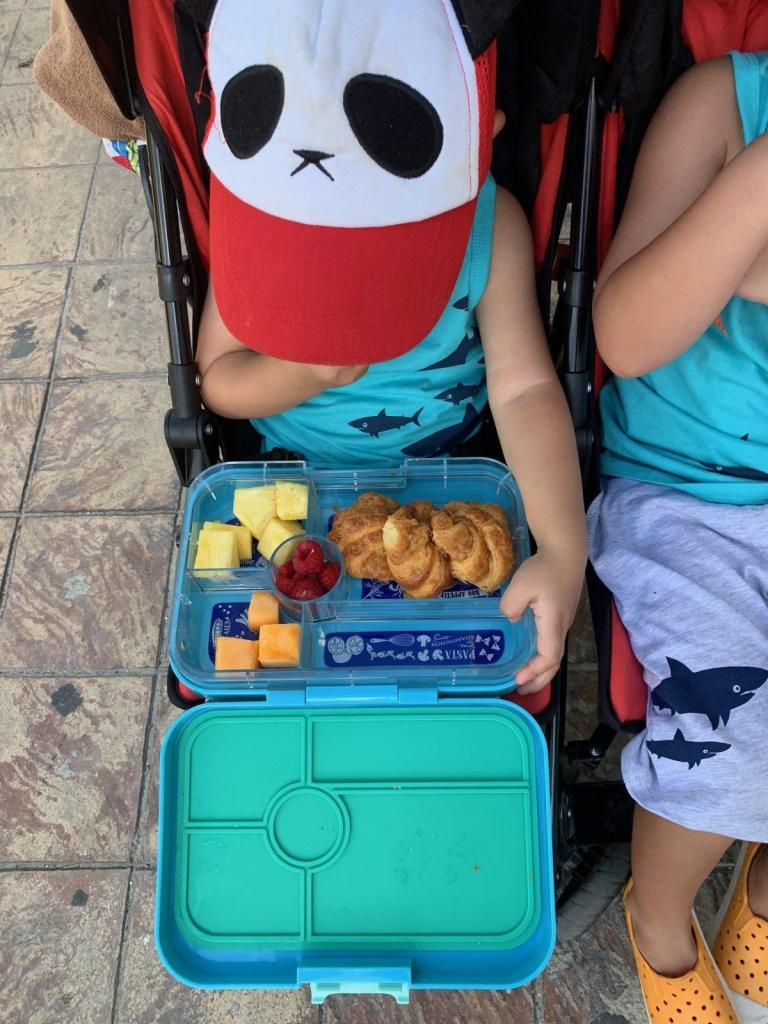 Yumbox Packing at Disney